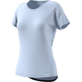 adidas TERREX TrailX T-shirt Damer, aero blue